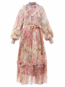 Stella Mccartney - Bryce Inverted Lapel Wool Coat - Womens - Beige