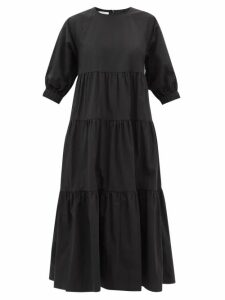 Hillier Bartley - Houndstooth Wool Wrap Skirt - Womens - Brown Multi