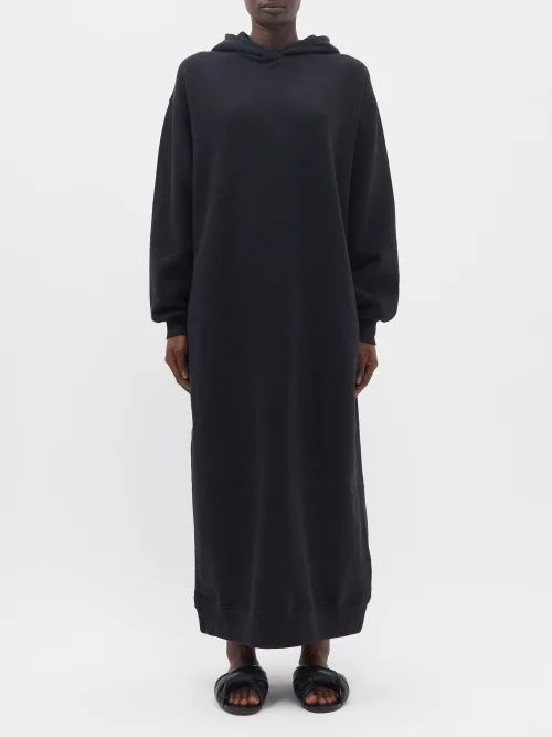 Christopher Kane - Floral Lace Midi Skirt - Womens - Black