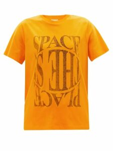 Andrew Gn - Gathered Balloon Sleeve Silk Blouse - Womens - Light Pink