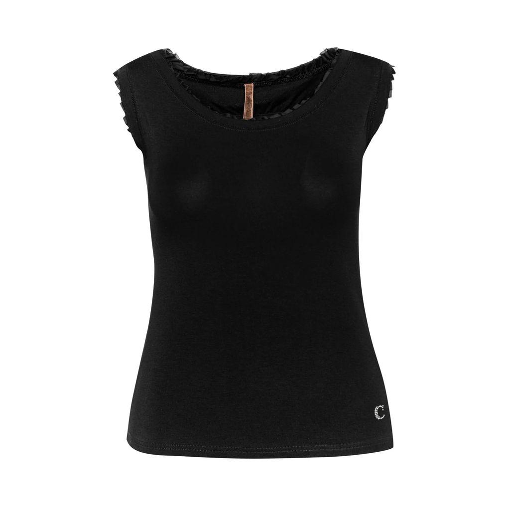 UNDRESS - Altea Black Maxi Striped Shirt Dress