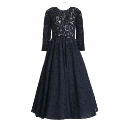 MATSOUR'I - Pauline Lace Dress With Bead Embroidery