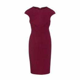 MATSOUR'I - Luisa Dress Dark Blue With Flowers