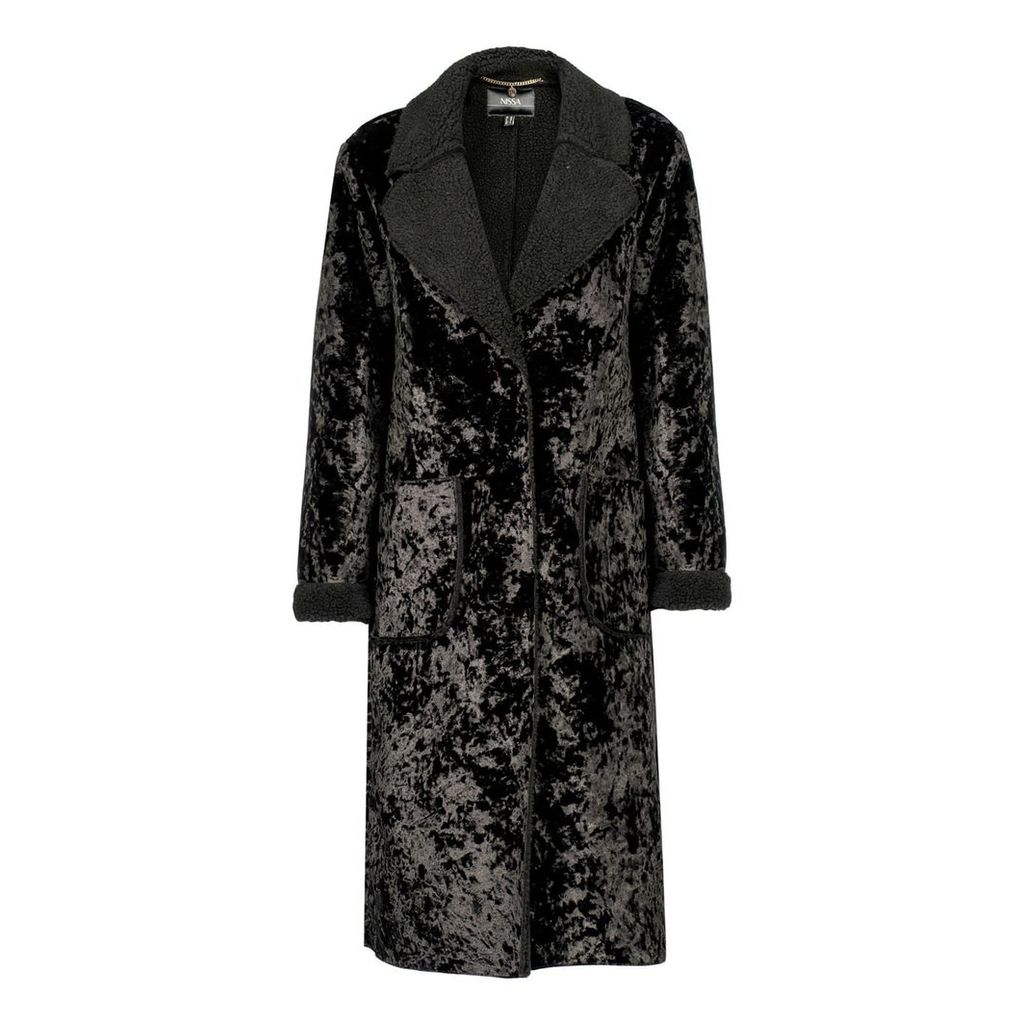 Nissa - Elegant Ecological Fur Coat