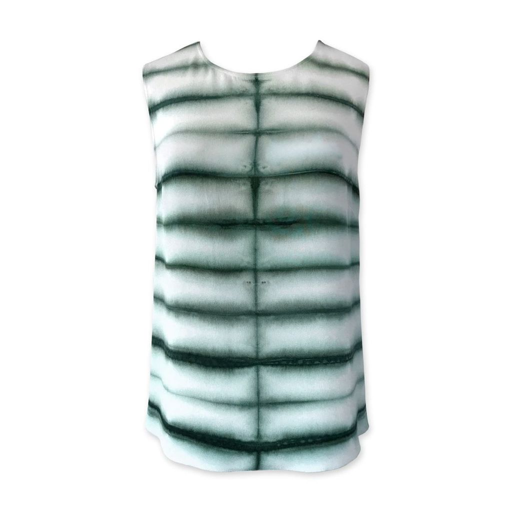 Riona Treacy - Silk Shibori Top