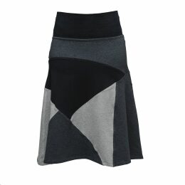Zalinah White - Alexa Suedette Pencil Skirt In Tan