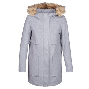 Only  ONLNOAH  women's Coat in Grey