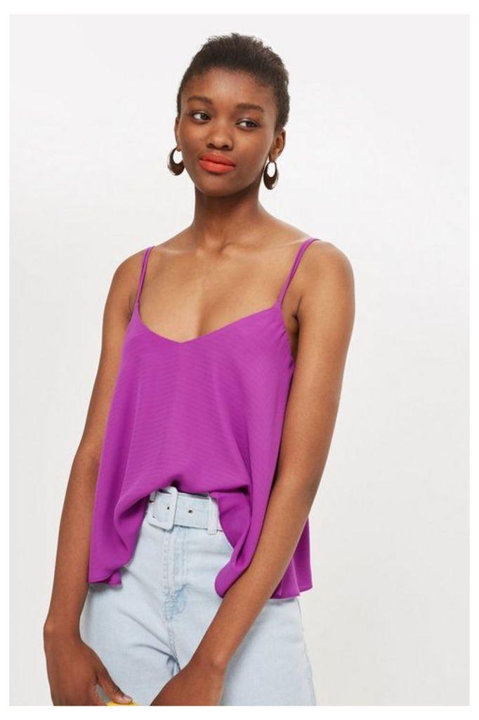 Womens Swing Camisole Top - Purple, Purple