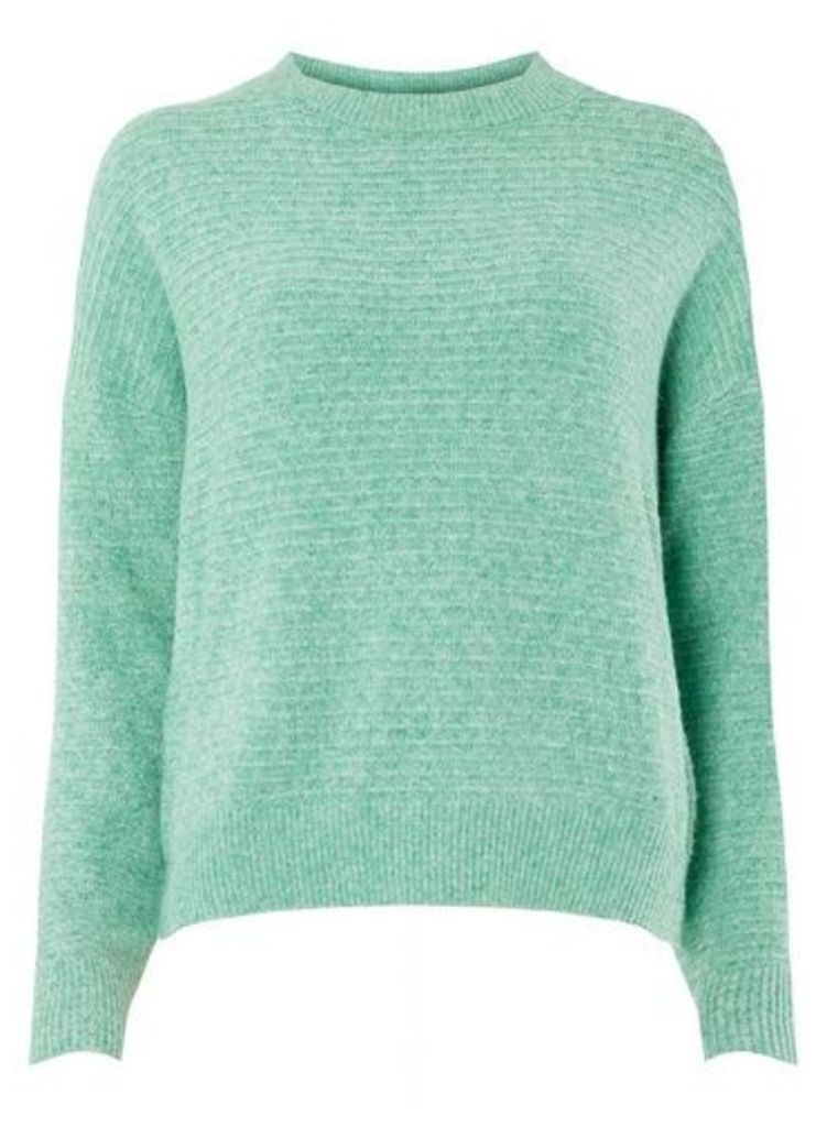 Womens **Vero Moda Green Knitted Jumper- Green, Green