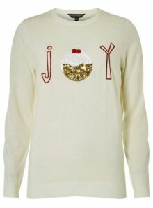 Womens Ivory 'Joy' Jumper- White, White