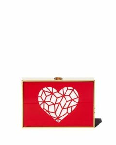 Reine Cutout Heart Clutch