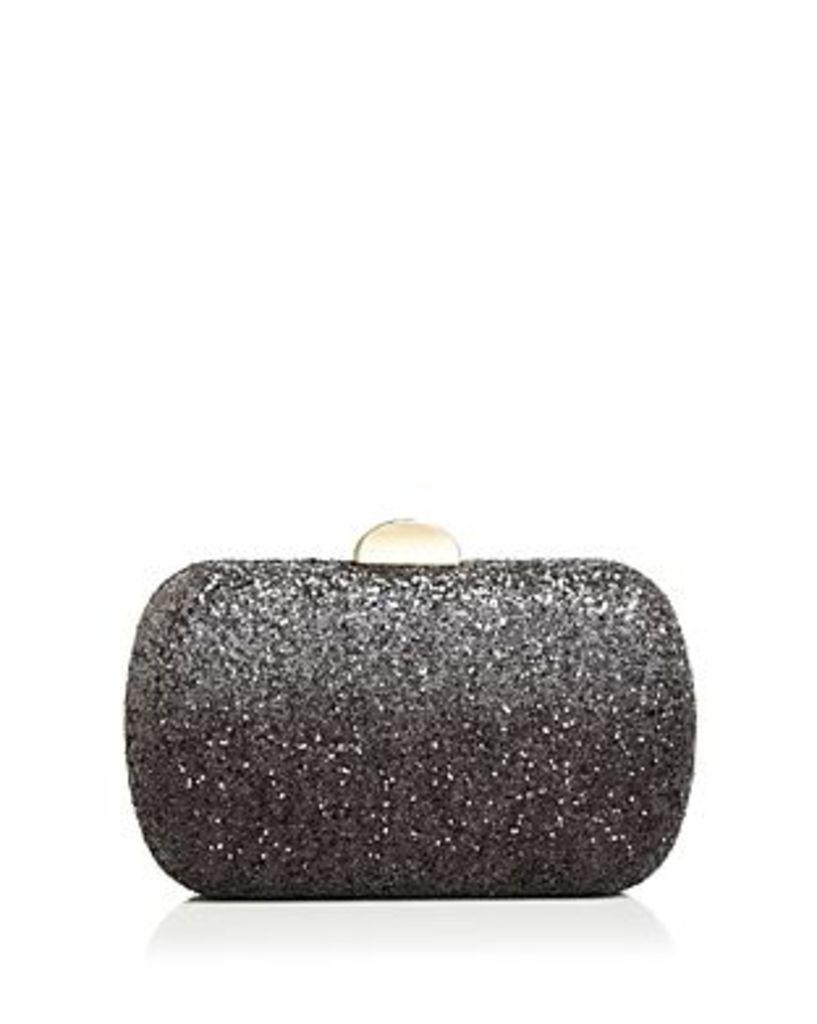 Sondra Roberts Ombre Medium Glitter Box Clutch