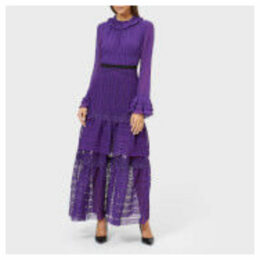 Three Floor Women's Ultralicious Dress - Hot Purple - UK 6 - Purple