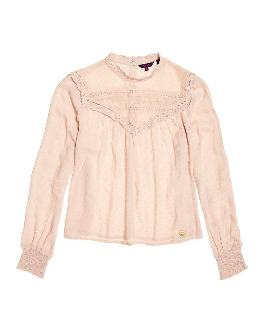 Superdry Rosey Lace Top