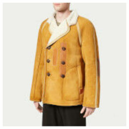Maison Margiela Men's Sheepskin Replica Coat - Biscuit - EU 50/L - Camel