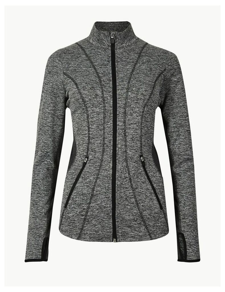 M&S Collection Jaspe Quick Dry Long Sleeve Jacket
