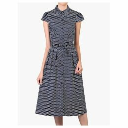 Jolie Moi Spot Print Shirt Dress, Navy