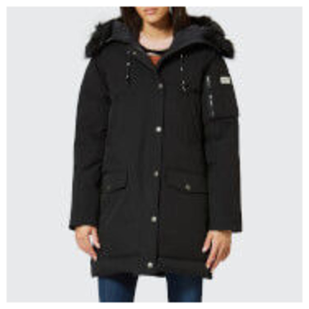 KENZO Women's Technical Long Coat - Black