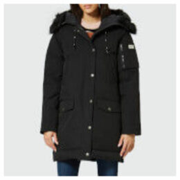 KENZO Women's Technical Long Coat - Black - S - Black