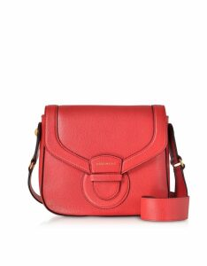 Coccinelle Designer Handbags, Vega Medium Leather Shoulder Bag