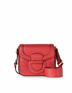 Coccinelle Designer Handbags, Vega Small Leather Shoulder Bag