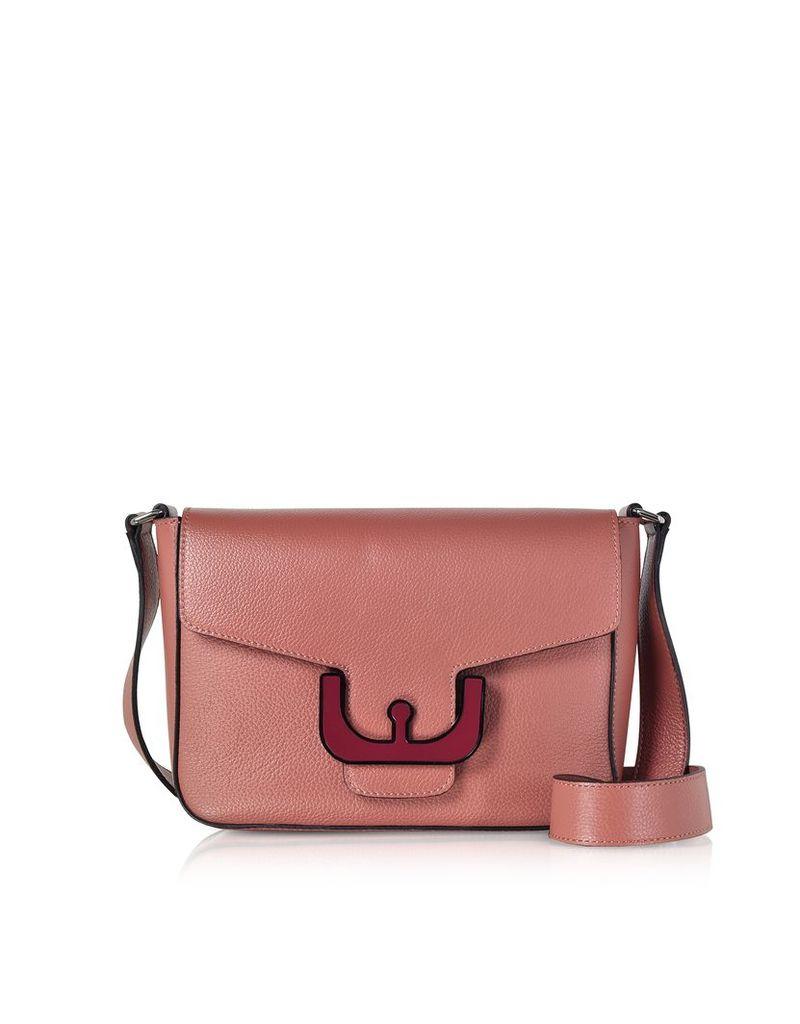 Coccinelle Designer Handbags, Ambrine Leather Crossbody Bag