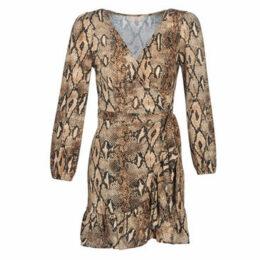 Moony Mood  JANTIL  women's Dress in Beige