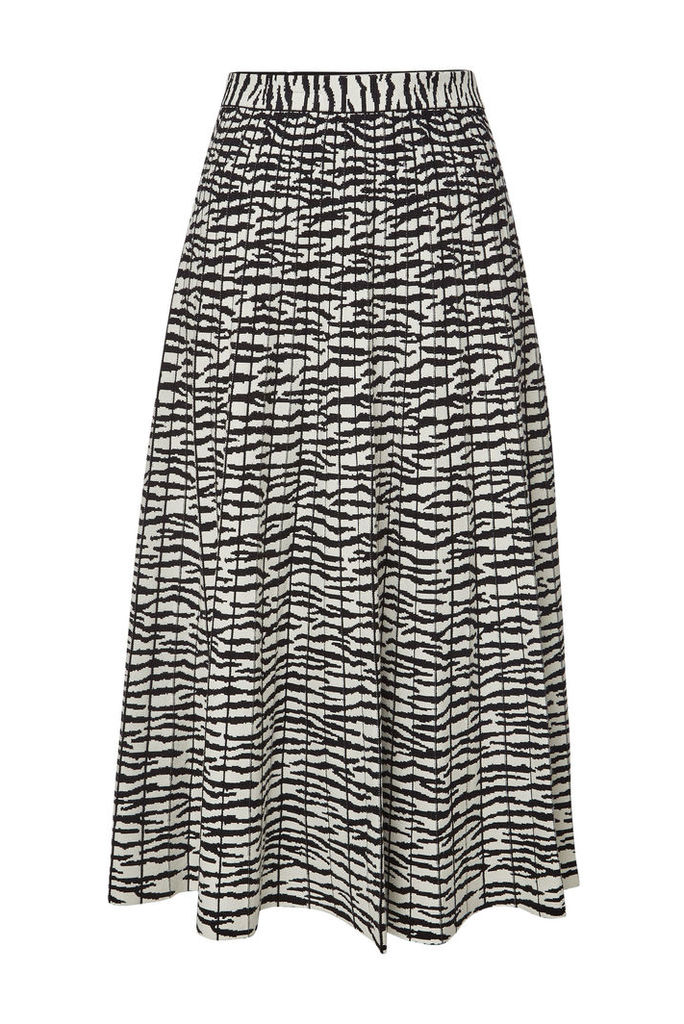 Proenza Schouler Animal Print Midi Skirt
