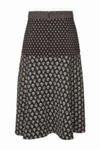 Proenza Schouler Printed Crepe Skirt