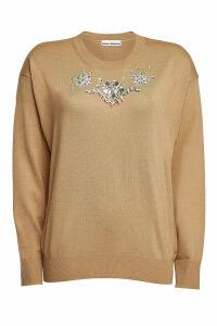 Paco Rabanne Embellished Virgin Wool Pullover
