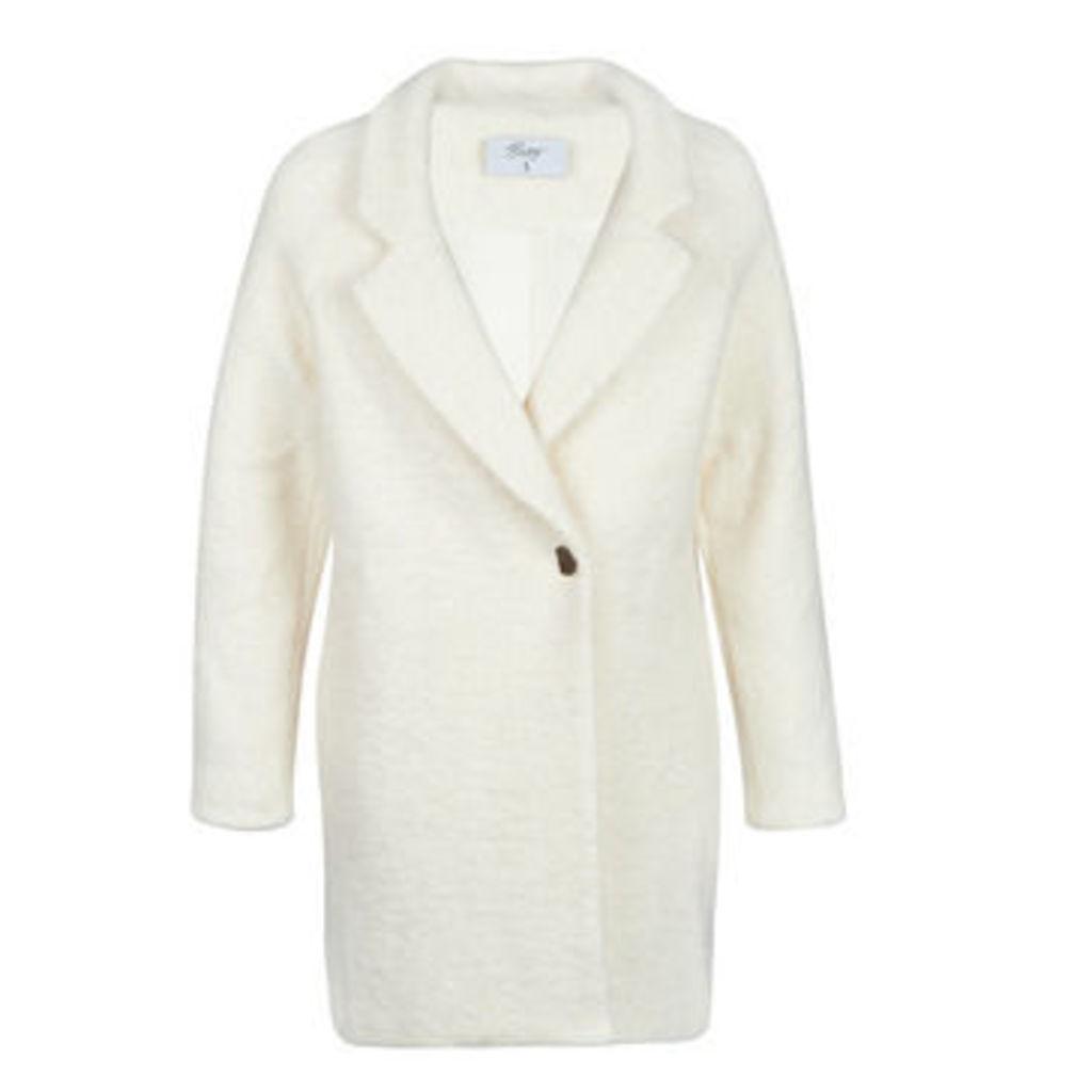 Betty London  JAPTOU  women's Coat in White