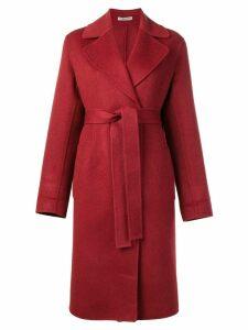 Bottega Veneta double cashmere coat - Red