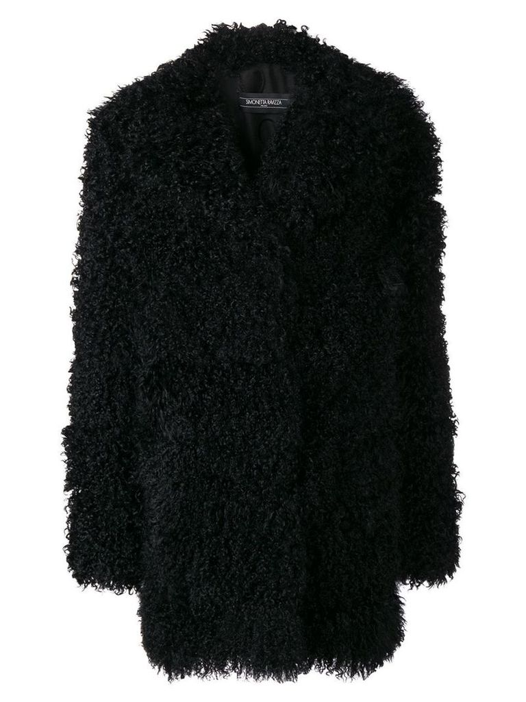 Simonetta Ravizza Laura fur coat - Black