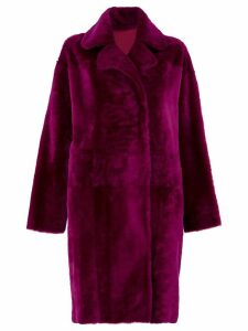 Drome reversible coat - PURPLE