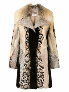 Liska Andrea coat - Neutrals