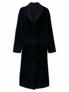 Liska reversible long coat - Blue