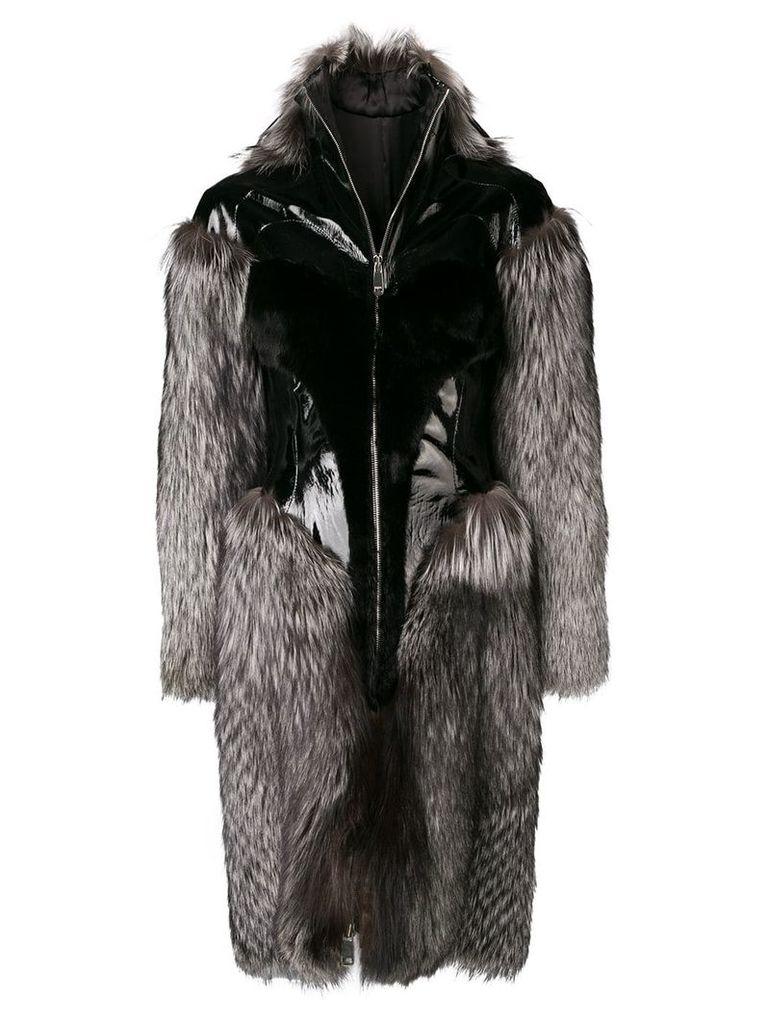 Liska corset coat - Black