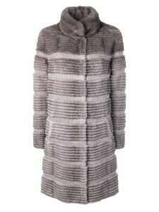 Liska mink fur coat - Grey