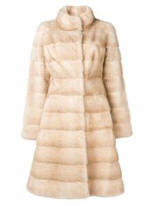 Liska Valencia coat - Neutrals