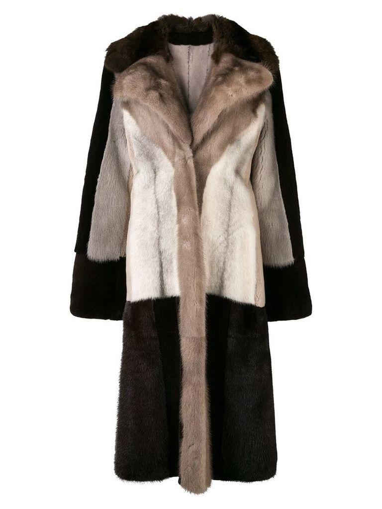 Liska Andrea coat - Brown