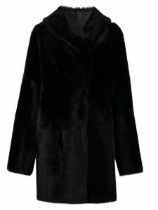Sylvie Schimmel Cortina teddy coat - Black
