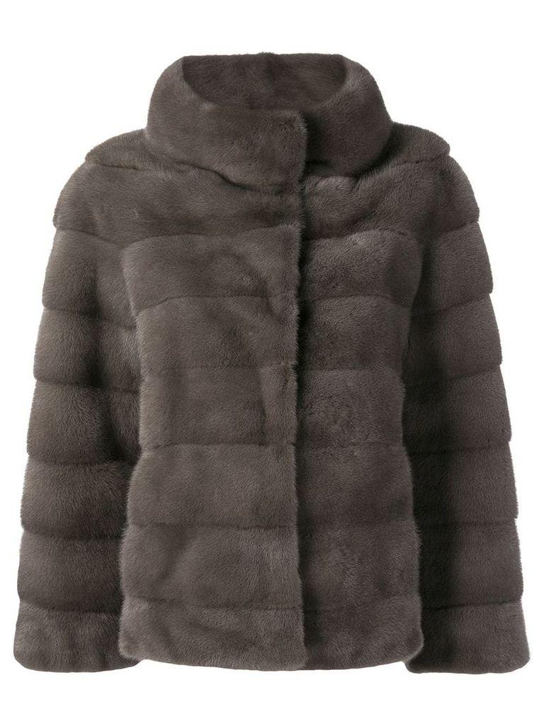 Liska short coat - Grey