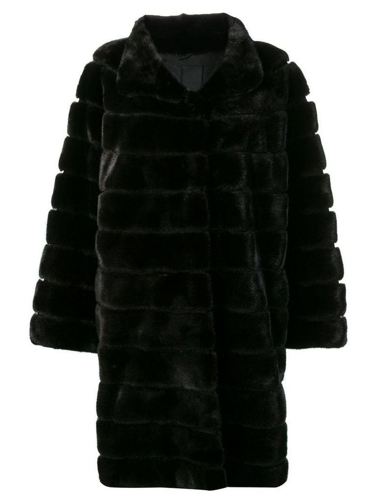 Liska ribbed coat - Black