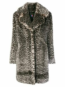La Seine & Moi Louve faux fur coat - Grey