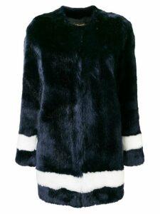 La Seine & Moi Petra faux fur coat - Blue