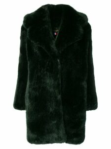 La Seine & Moi Louve faux fur coat - Green