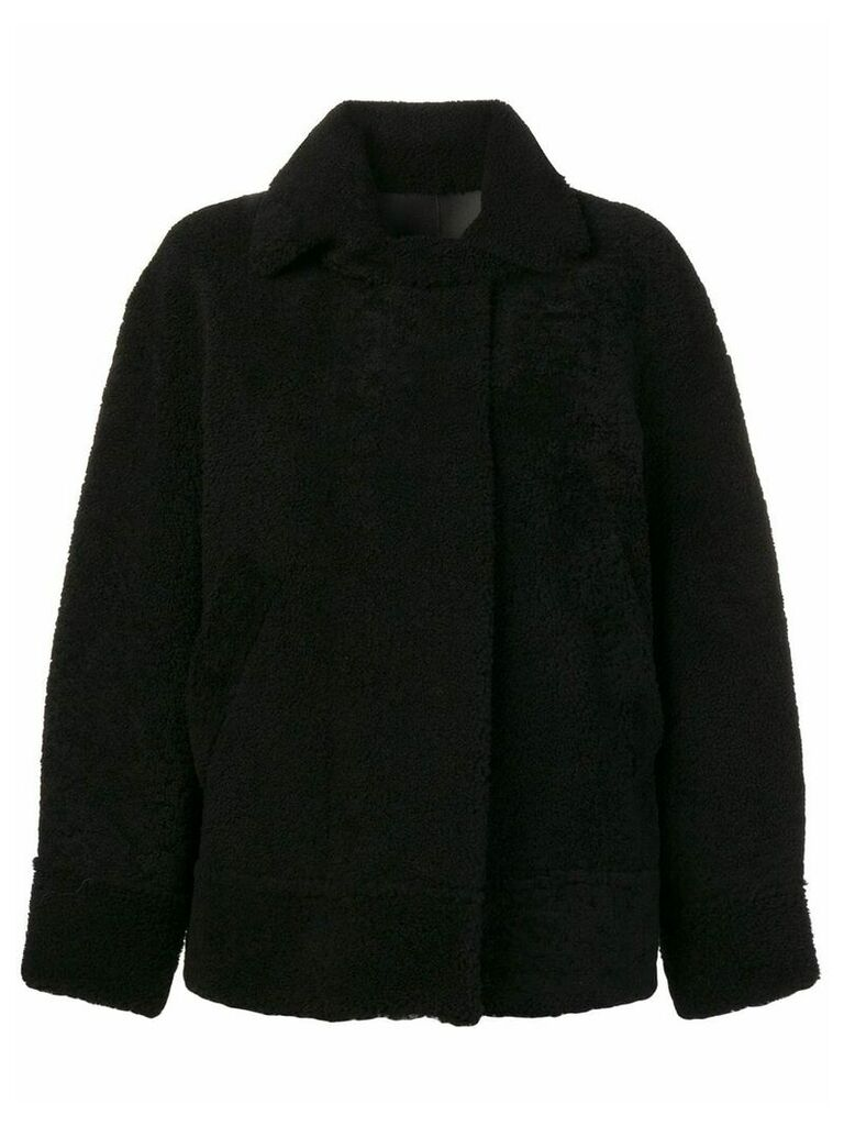 Sprung Frères shearling bomber coat - Black