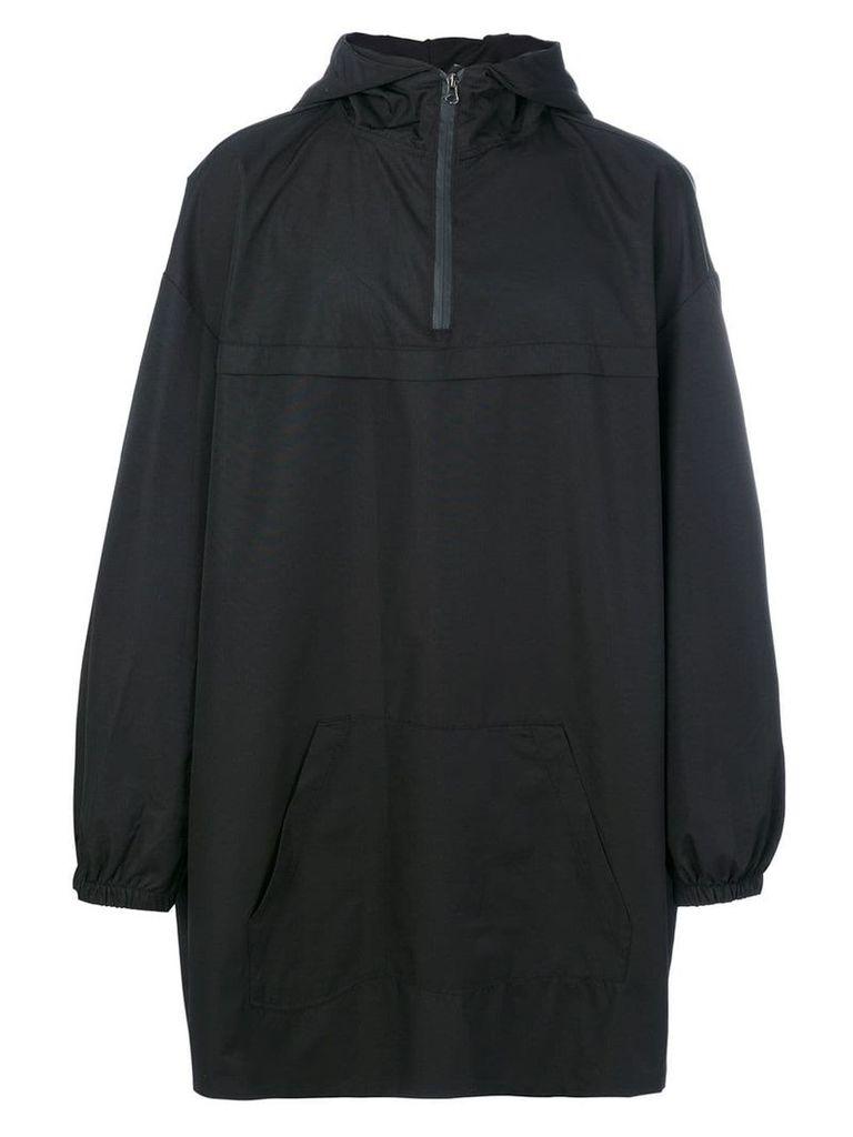 Yuiki Shimoji hooded oversized parka - Black