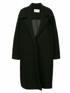 Strateas Carlucci oversized coat - Black