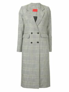 Strateas Carlucci checked coat - Multicolour